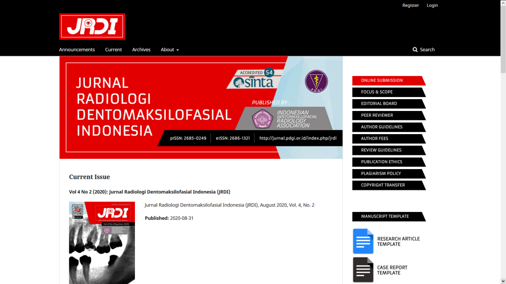 Jurnal JRDI Terbitan IKARGI Raih Akreditasi SINTA
